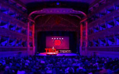 Focus 2039: PerVoice main sponsor TEDxTrento 2019