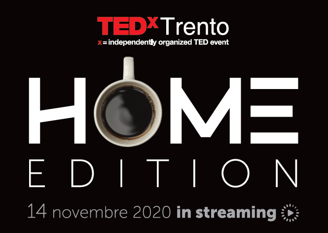 PerVoice partner of TEDxTrento 2020